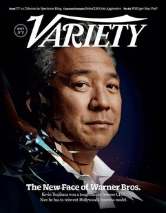 "The cover of the newly-launched Hollywood trade magazine ""Variety"" in shown in this handout provided March 25, 2013. REUTERS/Variety/Handout"