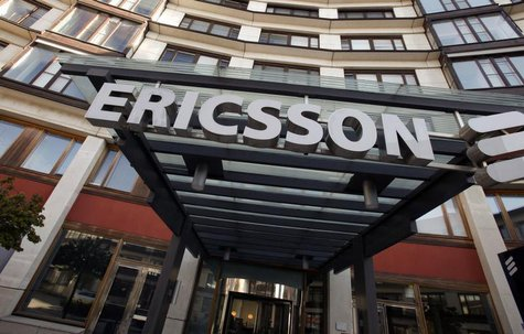 The exterior of Ericsson's headquarters are seen in Stockholm April 30, 2009. REUTERS/Bob Strong