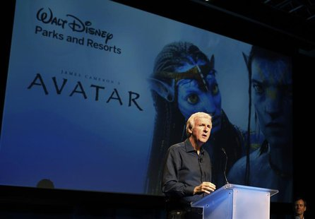 "Director James Cameron announce a long-term agreement which will bring ""Avatar"" themed lands to Disney parks with the the first at Walt Disn"
