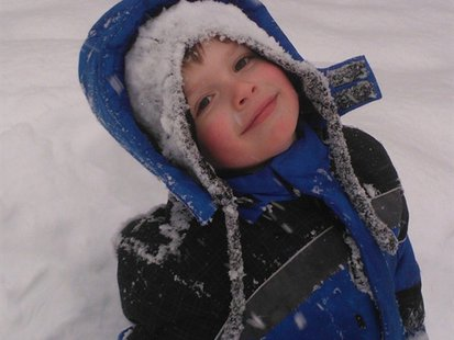 4-year-old Jordan Dixon, who was injured in a car crash on Wausau's Thomas Street 3/23/13.