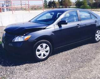 Toyota Camry, similar to one that crashed in Wausau on the Thomas Street Bridge 3/23/13.