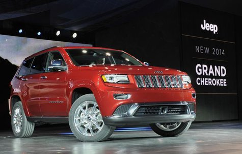 The 2014 Jeep Grand Cherokee is introduced at the North American International Auto Show in Detroit, Michigan January 14, 2013. REUTERS/Jame