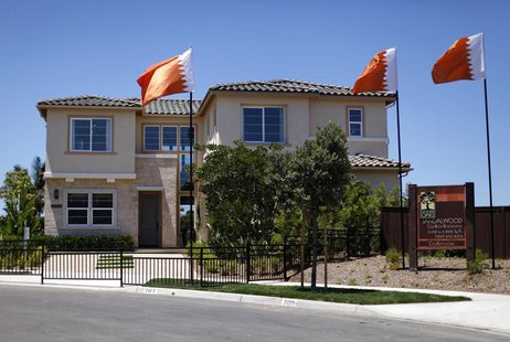 A model home sits for sale in Carlsbad, California June 30, 2011. REUTERS/Mike Blake