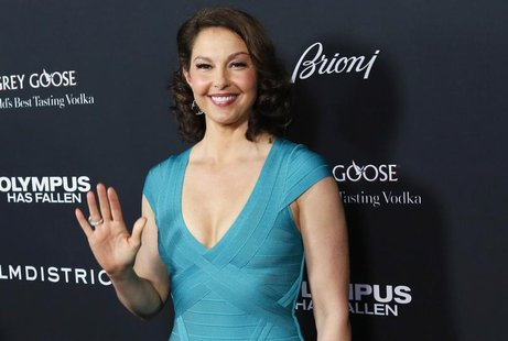 "Cast member Ashley Judd arrives at the premiere of the movie ""Olympus Has Fallen"" at the ArcLight Cinema in Hollywood, California March 18,"