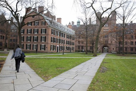 Old Campus at Yale University in New Haven, Connecticut, November 28, 2012. REUTERS/Michelle McLoughlin