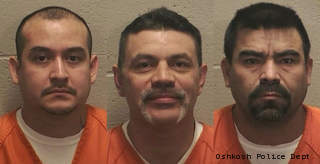 From left to right: Ubaldo Adame,Fernando Sandoval, and Rodolfo Reyes-Olivas