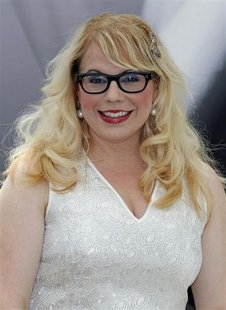 "Cast member Kristen Vangsness poses during a photocall for the TV series ""Criminal Minds"" at the 52nd Monte Carlo Television Festival in Mon"
