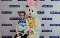 WIXX Photo Booth: Easter Bunny at Sir Bounce-a-Lots 9
