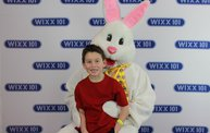 WIXX Photo Booth: Easter Bunny at Sir Bounce-a-Lots 7