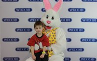 WIXX Photo Booth: Easter Bunny at Sir Bounce-a-Lots 5