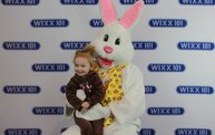 WIXX Photo Booth: Easter Bunny at Sir Bounce-a-Lots 2