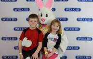 WIXX Photo Booth: Easter Bunny at Sir Bounce-a-Lots 1