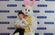 WIXX Photo Booth: Easter Bunny at Sir Bounce-a-Lots 22
