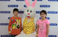 WIXX Photo Booth: Easter Bunny at Sir Bounce-a-Lots 18