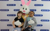WIXX Photo Booth: Easter Bunny at Sir Bounce-a-Lots 17