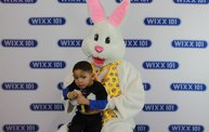 WIXX Photo Booth: Easter Bunny at Sir Bounce-a-Lots 10