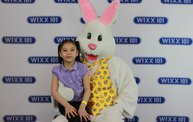WIXX Photo Booth: Easter Bunny at Sir Bounce-a-Lots 6