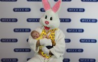 WIXX Photo Booth: Easter Bunny at Sir Bounce-a-Lots 14