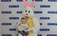 WIXX Photo Booth: Easter Bunny at Sir Bounce-a-Lots 26
