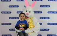 WIXX Photo Booth: Easter Bunny at Sir Bounce-a-Lots 11