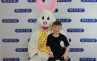 WIXX Photo Booth: Easter Bunny at Sir Bounce-a-Lots 25