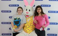 WIXX Photo Booth: Easter Bunny at Sir Bounce-a-Lots 15