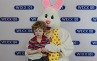 WIXX Photo Booth: Easter Bunny at Sir Bounce-a-Lots 13