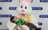 WIXX Photo Booth: Easter Bunny at Sir Bounce-a-Lots 12