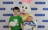 WIXX Photo Booth: Easter Bunny at Sir Bounce-a-Lots 29