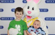 WIXX Photo Booth: Easter Bunny at Sir Bounce-a-Lots: Cover Image
