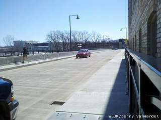 The Olde Oneida Street bridge in Appleton reopened Friday, March 29, 2013. (courtesy of FOX 11).