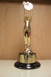 The much coveted AVA Digital Award