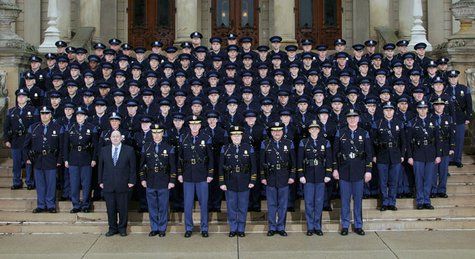 State Trooper Recruit class #124