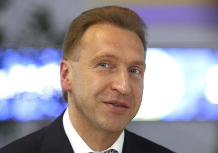 First Deputy Prime Minister Igor Shuvalov takes part in the St. Petersburg International Economic Forum in St. Petersburg, June 22, 2012. RE