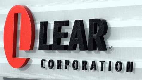 The sign in front of the headquarters of Lear Corp., an auto parts maker, is seen in Southfield, Michigan February 9, 2007. REUTERS/Rebecca