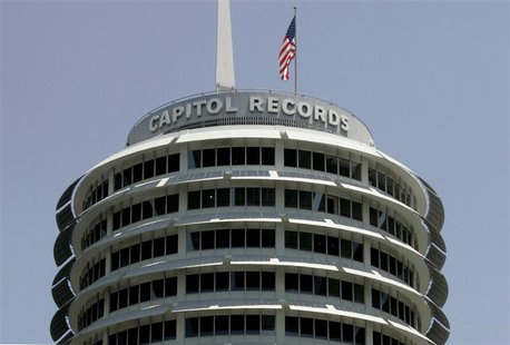The Capitol Records building is pictured in Hollywood, California in this file photo taken June 11, 2008. In a major lawsuit testing the leg