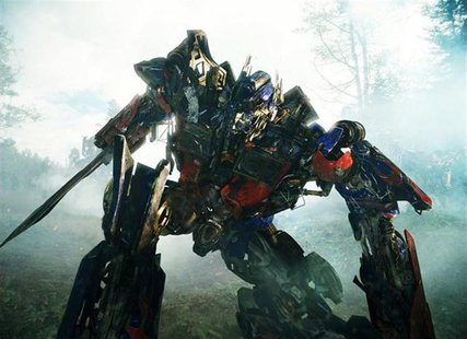 "Optimus Prime in a scene from ""Transformers: Revenge of the Fallen"". REUTERS/DreamWorks/Paramount Pictures"