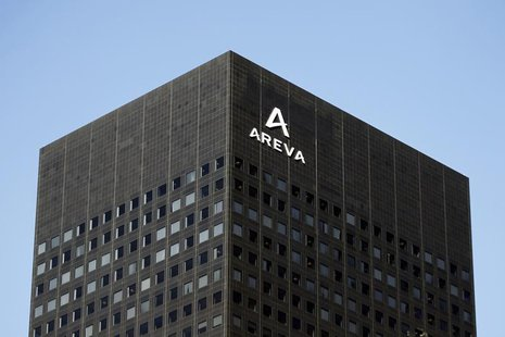 View of France's nuclear reactor maker Areva headquarters in the financial district of la Defense near Paris March 8, 2010. REUTERS/Charles