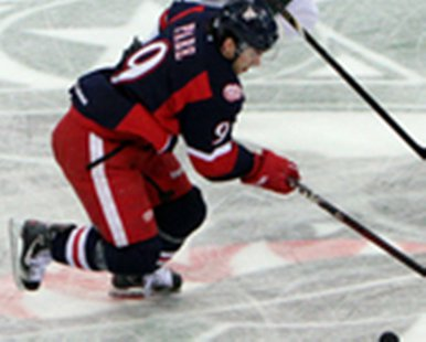 Grand Rapids Griffins forward Francis Parè in action at Houston on Apr. 2, 2013. (photo courtesy Grand Rapids Griffins)