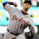 Detroit Tigers pitcher Anibal Sanchez