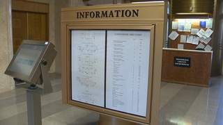 The inside of the Winnebago County Courthouse as seen on Wednesday, April 3, 2013. (courtesy of FOX 11).