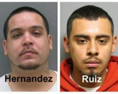 Josè Hernandez (L) and Uvaldo Ruiz (R) (photos courtesy Holland Department of Public Safety)