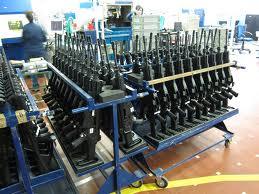 gun manufacturing line
