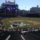 Comerica Park on Opening Day. Photo credit Carolyn Binder