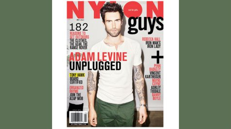Image courtesy of Facebook,com/NylonGuysMag (via ABC News Radio)