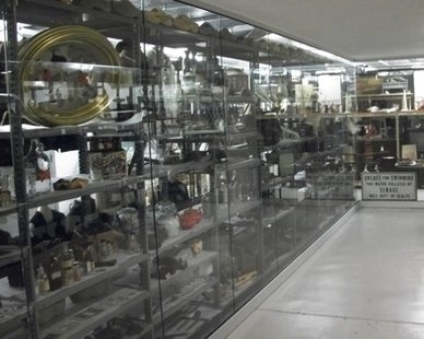 Holland Museum's Collections Viewing Area at the Holland Armory (photo courtesy Holland Historical Society)