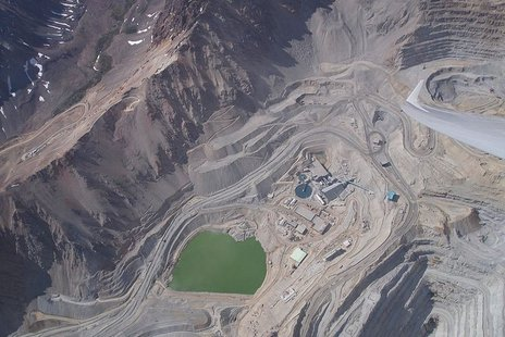 Chile copper mine