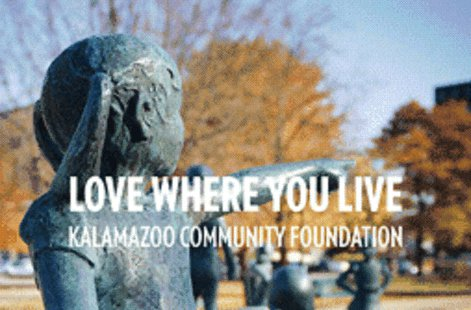 The Kalamazoo Community Foundation, This is actually the cover for their guide for giving.