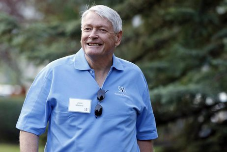 Chairman of Liberty Media John Malone attends the Allen & Co Media Conference in Sun Valley, Idaho in this July 12, 2012 file photo. REUTERS