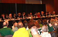 WTAQ at Joint Finance Committee Budget Listening Session at Lambeau Field 12
